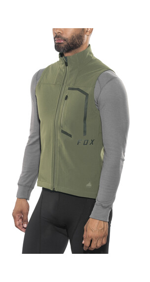 Fox Attack Fire Bike Vest Men green